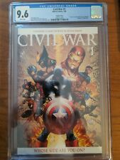 Civil War 1, Marvel 2006, Turner Variant 1:50 CGC 9.6