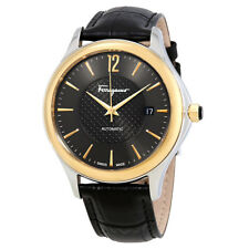Ferragamo Time Automatic Black Dial Mens Watch FFT020016