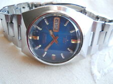 ORIGINAL,RARE1969 MOON SEIKO DX, 17 RUBIS AUTO, DOUBLE PUSH QUICK SET,HEAD ONLY