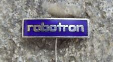 VEB Robotron East German Vintage Computer Electronics Company Pin Badge