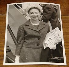 MARGOT FONTEYN VINTAGE ORIGINAL NEWSPAPER PRESS PHOTO PHOTOGRAPH 88 WITH STAMPS