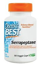 Serrapeptase Doctors Best 90 VCaps