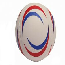 SIZE 5 STITCHED RUGBY BALL OFFICIAL SIZE AND WEIGHT PVC DEFLATED BALL BEACH