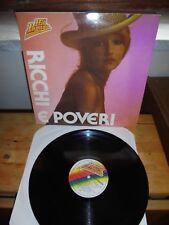 """Ricchi E Poveri """"Ricchi E Poveri"""" LP CURCIO ITA 1982"""