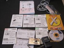 Canon PowerShot Digital ELPH SD450 / Digital IXUS 55 5.0 MP Digital Camera J50