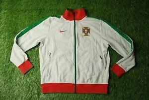 PORTUGAL TEAM 2010//2011 FOOTBALL TRACK TOP JACKET TRAINING NIKE ORIGINAL SIZE L