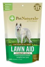Pet Naturals of Vermont Lawn Aid Dog Chews, 60 count