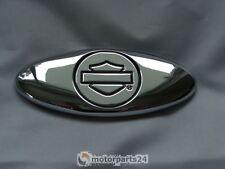 Harley Davidson B&S Médaillon Emblème ovale Sissybar Batterie Boîte De Valise