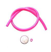 1,0m PVC Schlauch,Fluo Pink,Pilker,Blinker,Spinner,MeersSysteme,Brandung,Hochsee