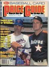 Sports Collectors Digest Baseball Card Price Guide December 1989 Nolan Ryan