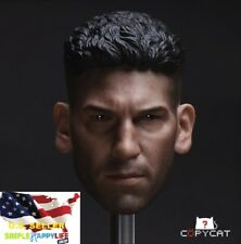 1/6 Punisher Head Sculpt 1.0 Jon Bernthal For Hot Toys PHICEN Male Figure ❶USA❶