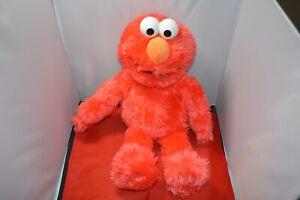 "Build-A-Bear BAB Sesame Workshop Elmo 19"" Stuffed Plush Toy Animal Monster"