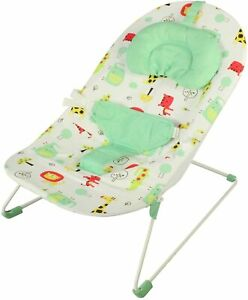 Red Kite Baby Bouncer Quiet Time Soft Cosy Jungle Theme Cozy Play Washable BNWT