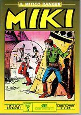 edizioni Dardo-Europa  Il mitico ranger  MIKI a colori    OTTIMO+++   n. 5
