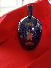 Porfidio Reposado   Tequila  cobalt blue  Empty Bottle RARE