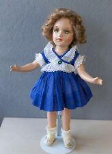 "New Listing1938 Vintage 14"" Debu'teen R&B Arranbee Composition Doll Mohair Wig Debuteen"