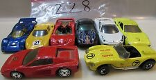 HOT WHEELS LOT OF 8 FERRARI 308 ITALIA TESTAROSSA LOOSE