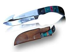 "DC803 7.5"" Deer Creek Fixed Blade Skinning Bowie Hunting Knife Skinner Full Tang"