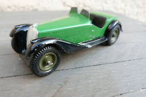 JOUET ANCIEN RARE VOITURE CABRIOLET style MG BRITAINS EPOQUE DINKY