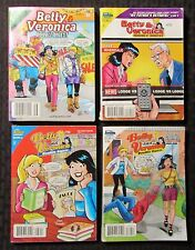 2008 BETTY AND VERONICA Archie Double Digest #156 172 186 189 VG- to FN+ LOT