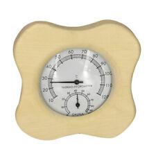 Saunathermometer Dampfsauna Raumthermometer Hygrometer Badzubehör