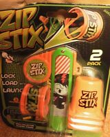 Zip stix. Lock load & launch. 2 pack. Bnip.
