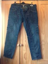 Stonewashed Relaxed Fit, Slouch Regular Mid Jeans for Women