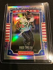 2017 Rookies & Stars Football Great American Heroes Fred Taylor #39