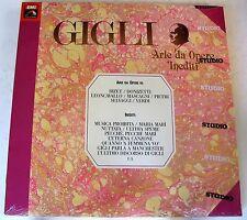 BENIAMINO GIGLI - GIGLI V - ARIE DA OPERE INEDITI - 3 LP SIGILLATO