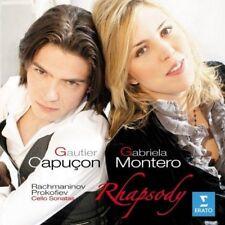 Rachmaninov And Prokofiev - Rhapsody / Cello Sonatas (NEW CD)