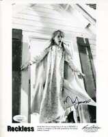 Mia Farrow JSA Coa Signed 8x10 Reckless Photo Autograph