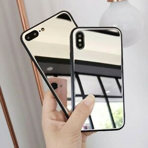 Luxury Mirror phone cover case bumper protector FOR Samsung Galaxy S9 + Plus