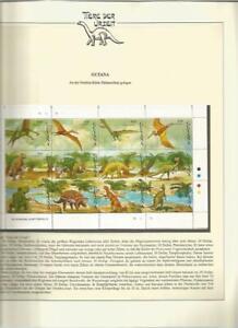81581/ Dinosaurier Fauna Tiere ** MNH OHNE VORDRUCK GUYANA