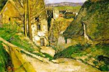 Paul Cezanne The Hanged Mans House Art Print Poster 24x36 inch