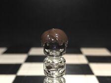 Lego Dark Brown Minifigure Hair / Wig X1 For Male / Boys / Men