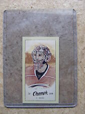 09-10 UD Champs Mini Parkhurst Back CAM WARD #216