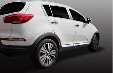 Chrome Body Side Garnish Molding 4p for 2011 ~ 2015 KIA sportage