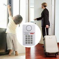 Window Door Home Alarm Security System Shed Garage Burglar Chime Keypad Set