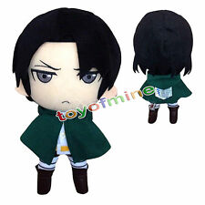 """New Attack On Titan Rivaille/Levi Plush Doll Toy Soft 12""""/30cm Xmas Gift"""