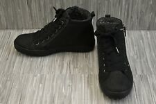 **Ecco Soft 7 Tred Gore-tex High Top 450163 Sneaker, Women's Size 6-6.5, Black
