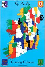 GAA County Colours: GAA Print