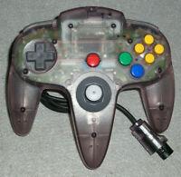 Nintendo 64 N64 Controller Atomic Purple AUTHENTIC EXCELLENT & WORKING NUS-005