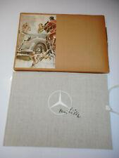 Hans Liska : Skizzenbuch mit Schuber , Daimler - Benz , Mercedes , 1951 EA