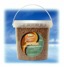 Daphnia Fish Food for Coldwater & Tropical Fish Aquarium Fish Tank Food 1 Litre