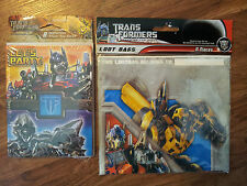 Transformers-Birthday-Party-Pack-Invitations-Postcards-Gift-Bags-Multi-color