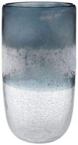 Lahara Navy 25cm Vase | Large Tabletop Vase for Home | Garden | Church | Shop De