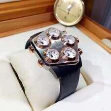 Jacob&Co Steel Rose Gold Pentagon Case Wrist Watch GL2-19 Five 5 Time Zones