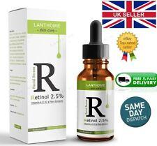 Retinol 2.5%  Vitamin A/C & E Collage face Serum Anti Aging Wrinkles Acne liquid
