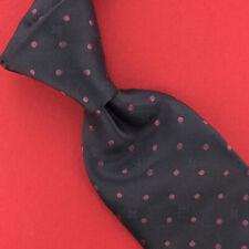 Louis Vuitton Tie LV Monogramme Polka Dots Brown Necktie Luxury Silk Ties New #1
