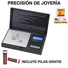 PESO BASCULA DE PRECISION BALANZA DIGITAL 0.01-100g PROFESIONAL GRAMOS + PILAS